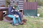 Barvářské zkoušky honičů v Travné
