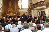 """Sedmý ročník festivalu """"Hudební léto v kostele sv. Bartoloměje"""" v Heřmanově Městci je minulostí."""