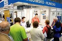 Mikroregion Chrudimsko-Hlinecko se prezentoval na veletrhu Regiontour 2011.
