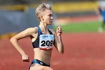 Sprinterka Anna Kozlová.