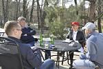 Ze středečního setkání s novináři.