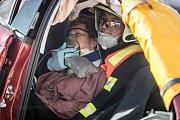 Mistrovství hasičů ve vyprošťování u dopravních nehod.