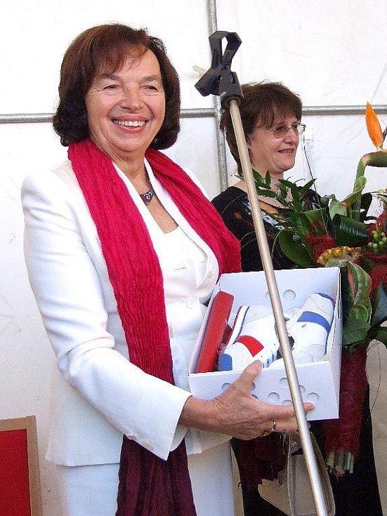 První dáma Livie Klausová.