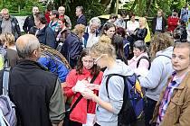 Hojná účast aktérů schůzky svědčila o tom, že další osud prostoru za Muzeem zajímá Chrudimáky všech generací.