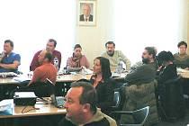 Manažerka cestovního ruchu Martina Kesnerová (na snímku uprostřed) má za úkol dostat do Hlinska nové návštěvníky.