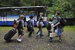 V Kutříně tráví na táboře léto již tradičně děti filmařů z Barrandova.