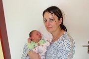 ŠTĚPÁN SUCHÁNEK (3,38 kg a 50 cm) je od 14.2. od 23:22 jméno prvního miminka Lucie a Tomáše Suchánkových z Holotína.