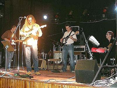 Hudební skupina Jazzibaba.