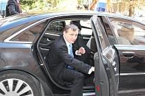 Ministr Bárta na inspekční cestě po východních Čechách