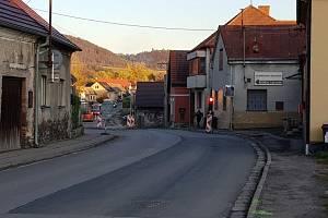 Výstavba kanalizace v Ronově nad Doubravou