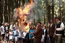 Skauti na táboře prožili Rok na vsi