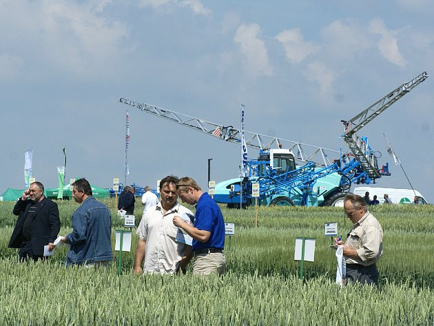 Výstava Naše pole obsadila devět hektarů plochy u Nabočan.