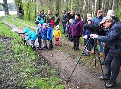 PTAČÍ neděle se zúčastnilo na 60 milovníků přírody.