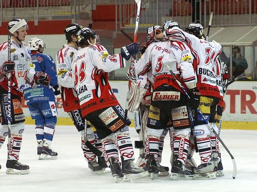 I. hokejová liga: HC Chrudim - HC Berounští Medvědi 2:1 po prodloužení