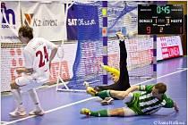 3. finálové utkání play off Chance futsal ligy: FK Era-Pack Chrudim - Bohemians 1905 9:1.