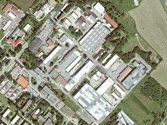 Areál výrobce elektrospotřebičů ETA Hlinsko.