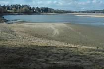 Aktuální stav na přehradě Seč