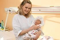 PETRA VOLDÁNOVÁ se synem Honzíkem přímo září, s manželem Jiřím mají ze syna velkou radost.