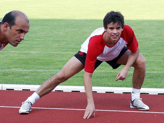 Nová akvizice Era-Packu Brazilec Max už trénoval se svými spoluhráči.