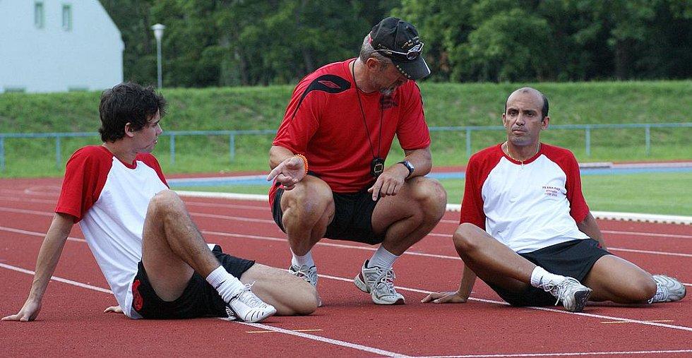 Brazilské posily Era-Packu při tréninku.