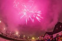 Vítání nového roku v Hlinsku.