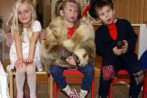 Děti se bavily i v Mateřské škole Svatopluka Čecha...