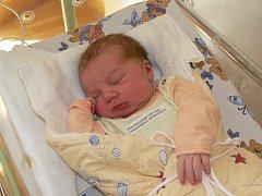 KRISTÝNA HORÁČKOVÁ (3,85 kg a 53 cm) je od 27.4. od 20:00 prvorozenou dcerou Veroniky a Petra z Chrudimi.