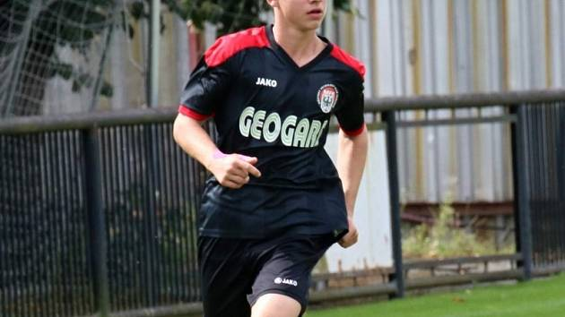 Michal Špánik (na snímku) má před sebou jistě zajímavou fotbalovou budoucnost. Ale v jaké roli?