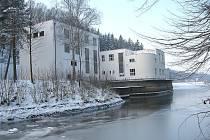 Vodní elektrárna Práčov.