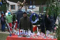Předvánoční jarmark a rozsvěcení vánočního stromku v Seči.