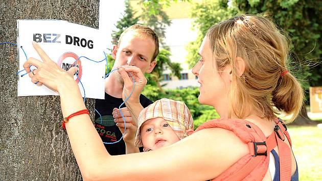 Chrudim street meeting v chrudimském parku Republiky