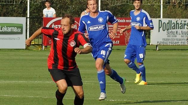 Radim Holub vstřelil rozhodující branku Chrudimi ve 2. kole Poháru České pošty proti Kolínu. MFK vyhrál 2:1.