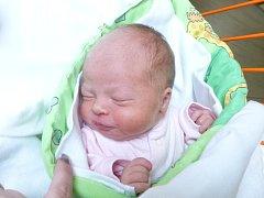 VALERIE PASEKOVÁ se narodila 13.10. v porodnici v Novém Městě na Moravě. Vážila 3,04 kg a měřila 49 cm.