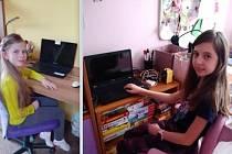Dívky shrnuly své pocity z online výuky do písničky.