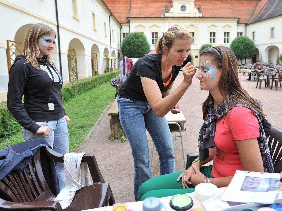 V Chrasti pokračovaly oslavy města programem Šikovné chrastecké hlavičky, ručičky a nožičky