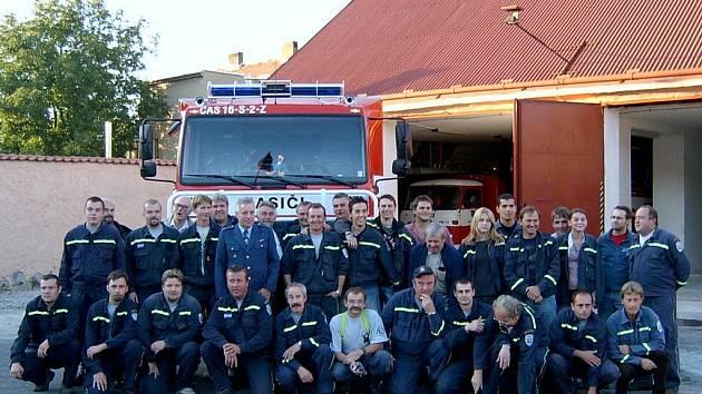 Současnost heřmanoměsteckého hasičského sboru