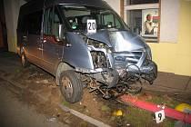 Nehoda v Chrasti