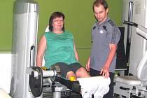 Romana Paseková cvičí pod dohledem trenéra Filipa Dundáčka a je už na její postavě úbytek tuku znát.