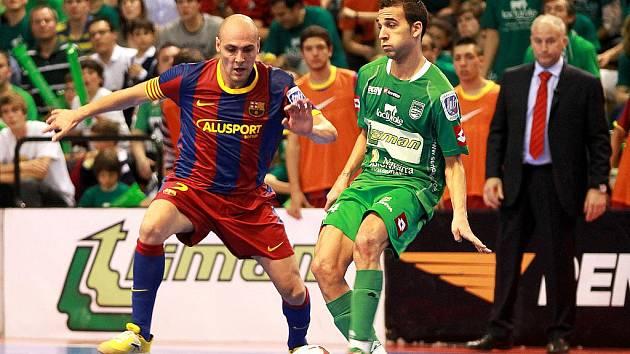 Legenda španělského futsalu Javi Rodriguez.