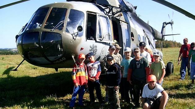 V letním táboře u Kutřína tráví pravidelně část prázdnin děti barrandovských filmařů.