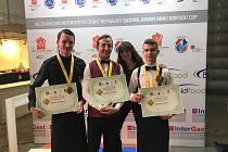 Žáci oboru hotelnictví chrudimské školy Bohemia obstáli v nejtěžší soutěži odbornosti na Mistrovství republiky Gastro Junior Bidfood Cup Brno 2019.