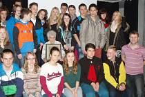 V národním památníku Ležáky se uskutečnilo setkání studentů z Čech, Německa a Švédska.