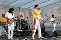 V rámci Roku hudby zněl chrudimskýcm náměstím Quenn Revival v podání kapely Princes