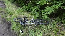 Dodávka smetla cyklistku, policie hledá svědky