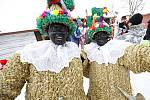 Masopustní masky na Betlémě.