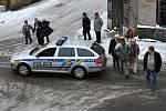 Policie ČR uzavřela krátkodobě i některé komunikace v centru města.