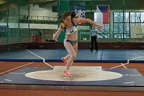 Chrudimská atletka Klára Bažoutová slaví republikový bronz