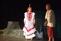 Nejen děti potěšilo pohádkou havlíčkobrodské divadlo Mrak.