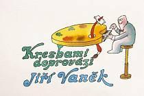 Ilustrace od Jiřího Vaňka.