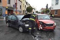 Nehoda v Hlinsku